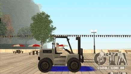 Forklift extreem v2 para GTA San Andreas