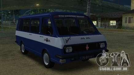 RAF Letónia 2203 táxi para GTA San Andreas