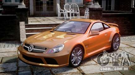 Mercedes-Benz SL65 AMG Black Series para GTA 4