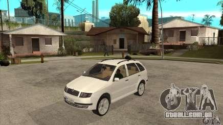 Skoda Fabia Combi para GTA San Andreas