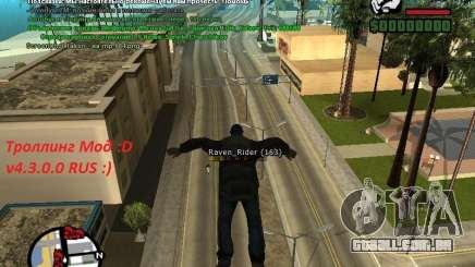 m0d S0beit 4.3.0.0 Full rus para GTA San Andreas