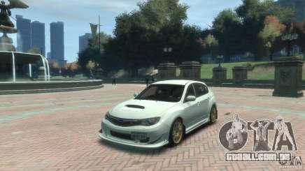 Subaru Impreza WRX STI para GTA 4