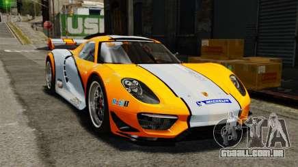 Porsche 918 RSR Concept para GTA 4