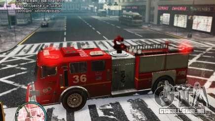 New LCFD Car para GTA 4