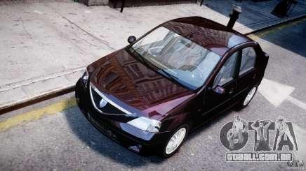 Dacia Logan 2007 Prestige 1.6 para GTA 4