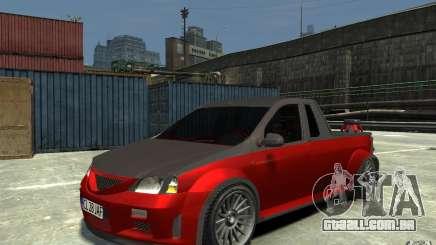 Dacia Pick-up Tuning para GTA 4