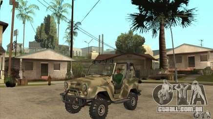 Verme UAZ-3150 para GTA San Andreas