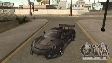 Porsche Carrera GT prata para GTA San Andreas
