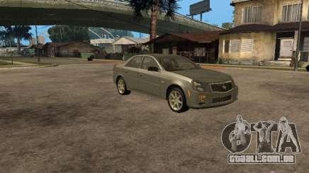 Cadillac CTS-V prata para GTA San Andreas