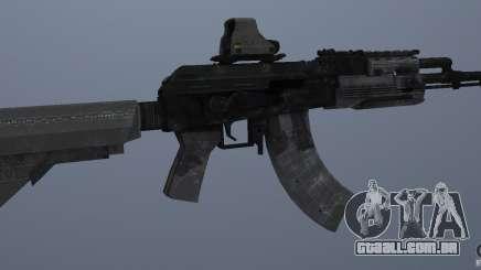 AK47+Holographic sight para GTA San Andreas