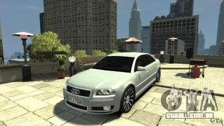 Audi A8 4.2 QUATTRO beta para GTA 4