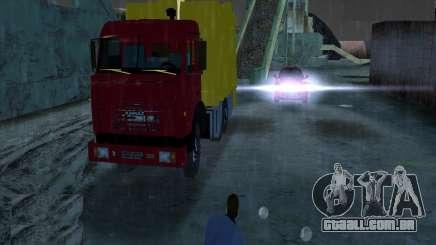 Caminhão de lixo Kamaz para GTA Vice City
