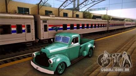 Shubert pickup para GTA San Andreas