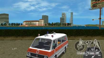 RAF 2203 ambulância para GTA Vice City
