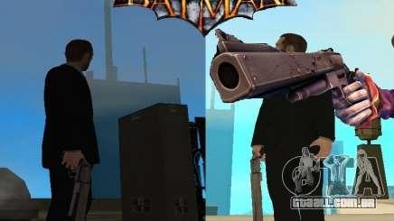 Coringa Joker de arma/canhão para GTA San Andreas