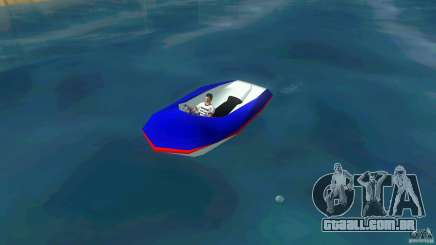 Speedboat dinghy para GTA Vice City