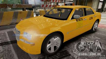 Chrysler 300c 3.5L TAXI FINAL para GTA 4