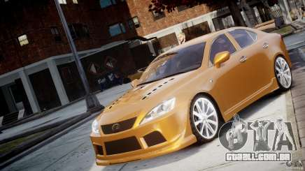 Lexus IS F para GTA 4