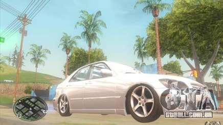Lexus IS300 Light Tuning para GTA San Andreas