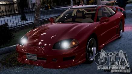 Dodge Stealth RT Turbo 1996 Borgonha para GTA 4