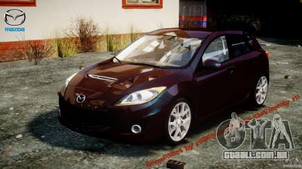 Mazda Speed 3 [Beta] para GTA 4
