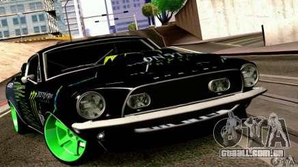 Shelby GT500 Monster Drift para GTA San Andreas