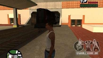 Combinar o trem partir o jogo Half-Life 2 para GTA San Andreas