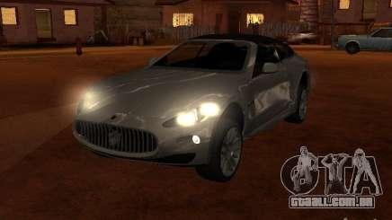 Maserati Granturismo S para GTA San Andreas