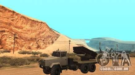KrAZ-63211 JAMZ v. 1 para GTA San Andreas