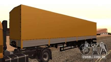 Reboque Nefaz dos caminhoneiros 2 para GTA San Andreas