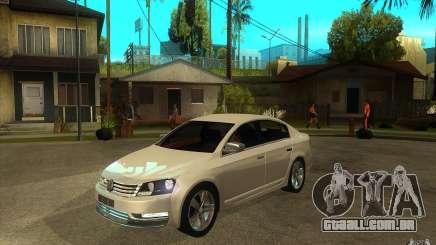 Volkswagen Passat 2.0 TDI Bluemotion 2011 para GTA San Andreas