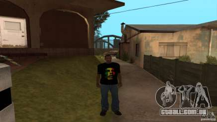 Camiseta Bob Marley para GTA San Andreas