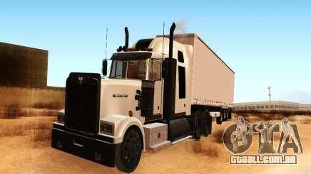 Western Star 4900 para GTA San Andreas