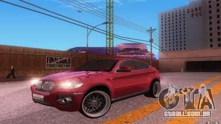 BMW X6 Tuning para GTA San Andreas