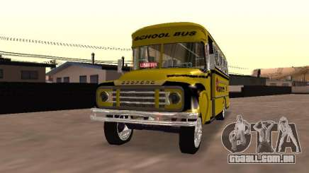 Bedford School Bus para GTA San Andreas