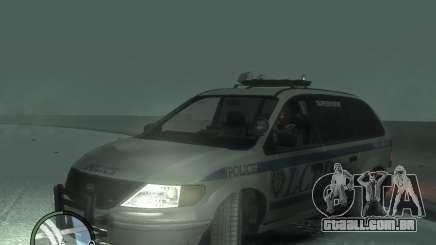 LCPD Minivan para GTA 4