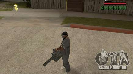 Hand Held M134 Minigun para GTA San Andreas