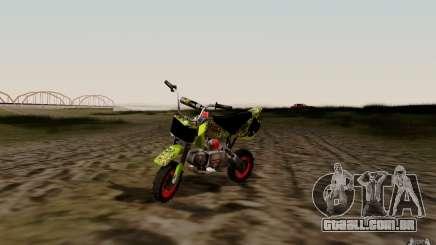 Kawasaki 50cc Pocket Factory Bike para GTA San Andreas