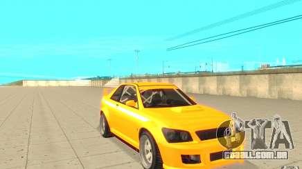 Sultan RS de GTA 4 para GTA San Andreas
