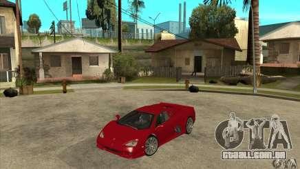 SSC Ultimate Aero Stock version para GTA San Andreas