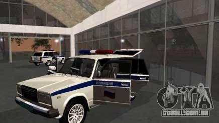 VAZ 21047 polícia para GTA San Andreas