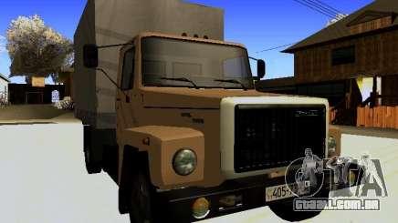 GAZ 3309 Clássico de Van para GTA San Andreas