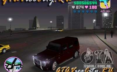Mercedes-Benz G500 Brabus para GTA Vice City