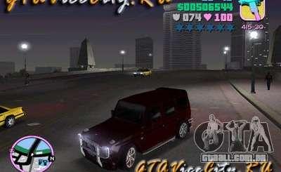 Mercedes-Benz G500 Brabus para GTA Vice City