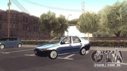 Fiat Siena 1998 prata para GTA San Andreas