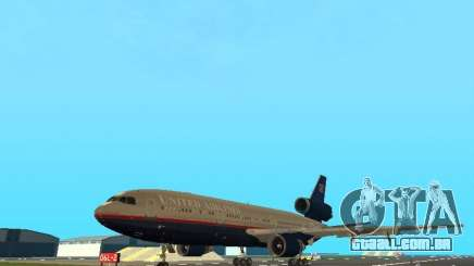McDonell Douglas DC10 United Airlines para GTA San Andreas