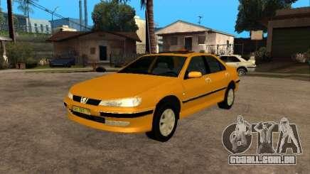 Peugeot 406 Taxi para GTA San Andreas