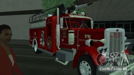 Peterbilt 379 Fire Truck ver.1.0 para GTA San Andreas