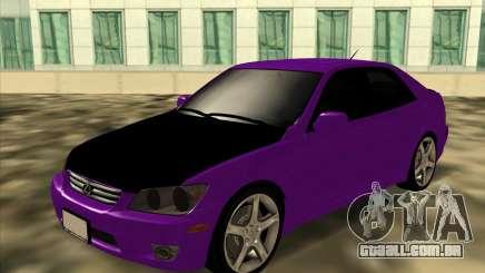 Lexus IS300 - Stock para GTA San Andreas