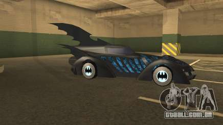 Batmobile 1995 para GTA San Andreas